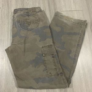 J.Crew City Fit Classic Twill Camouflage Chinos